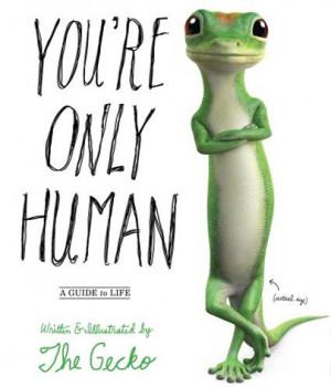 Geico's Gecko Has Written a Book