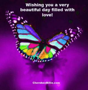 Wishing you a very beautiful day