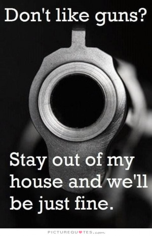 Funny Gun Quotes and Sayings