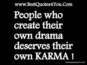 Quotes about karma 16