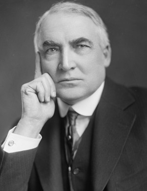 Description Warren G Harding-Harris & Ewing-crop.jpg