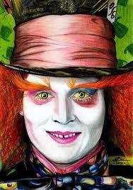 the mad wonderful hatter - mad-hatter-johnny-depp Photo