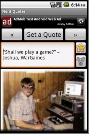 Nerd Quotes And Sayings Ver maior - movie nerd quotes