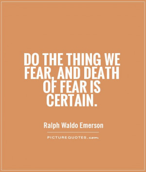 fearless is an absence of fear Courage and fear when we look at someone who overcome fear, we assume they are fearless definition of fearless is without fear according to dictionarycom &nbsp but courage is not an absence of fear according to mark twain.