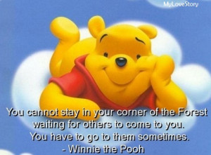 Famous Quotes by Winnie the Pooh, The Wise Honey Bear