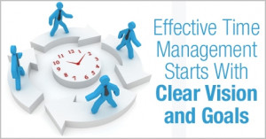 Effective Time Management Starts With Clear Vision and Goals