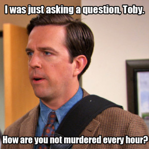 Toby The Office #toby · #fail · #andy bernard