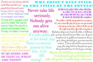 Funny Random Quotes by flicka-gal