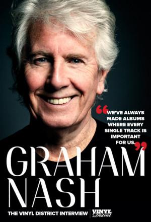 Graham Nash: The The Vinyl District Interview