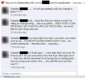Facebook Relationship Status...