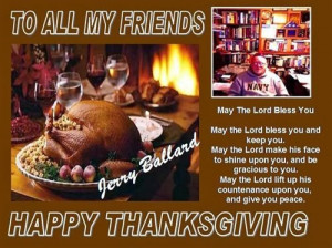 Happy Thanksgiving Quotes Family Friends ~ Thanksgiving Day Quotes For ...