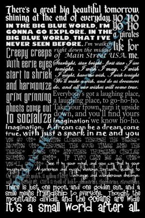 !Walt Disney World, Disney Stuff, Disney Quotes, Disney Songs, Disney ...
