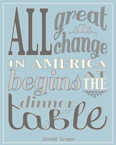 ... Quotes Instant, Ronald Reagan Quotes, Dinner Ideas, Weeknight Families