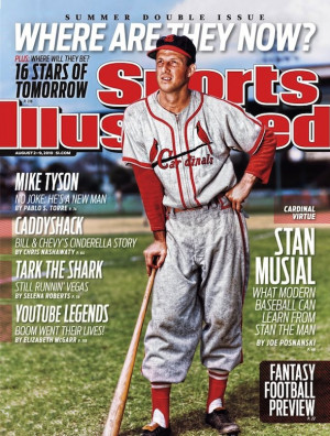 Stan Musial Makes Sports Illustrated Cover