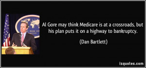Al Gore may think Medicare is at a crossroads, but his plan puts it on ...