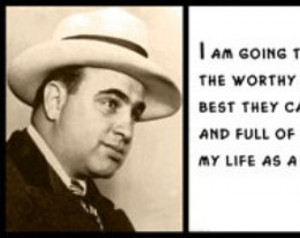 Wall Quote - Al Capone - I Am Going to St. Petersburg, Florida ...