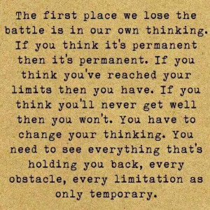 ... life WILL change! Please trust these words. You will see improvements