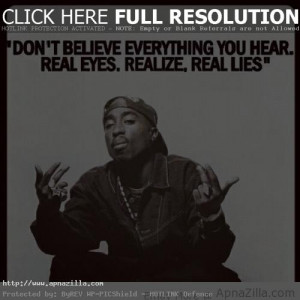 Quotes and Tupac Shakur Photos Life Saying (Image) Rapper Quotes ...