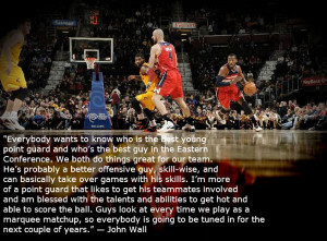 """John Wall on Kyrie Irving: """"I'm more of a point guard that likes ..."""