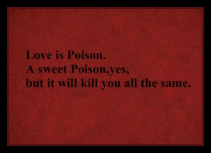 game of thrones, love, love quote, poison, quote, red