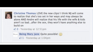 Quotes From the Show Being Mary Jane