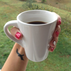 Enjoy a rainy morning with a cup of coffee, while admiring my new ...