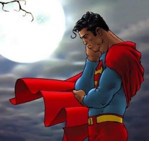 Sad Superman