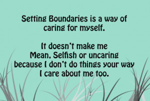 Giving Quotes And Setting Healthy Boundaries