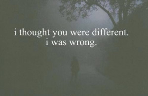 was wrong