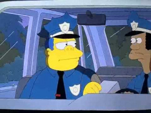 wish the real police was like chief wiggum