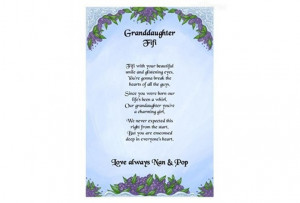 Poem to Granddaughter http://www.quicksales.com.au/ad/granddaughter ...