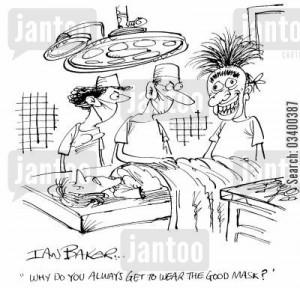 Operating Theatre Cartoon