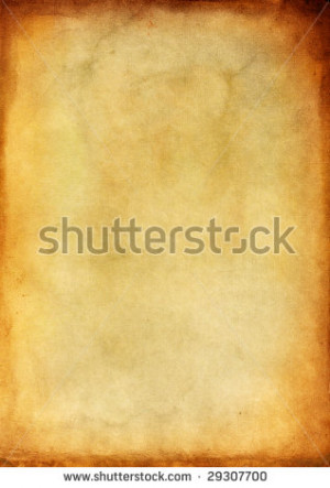 Stock Photo Old Paper With...
