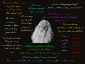 Dumbledore's best quotes by Esztilla