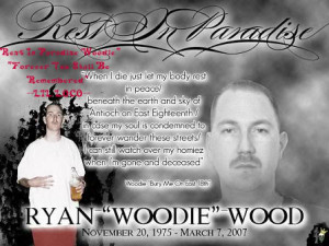 Rest In Paradise Woodie Image