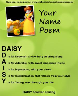 Acrostic Name Poem Wishafriend