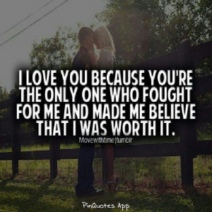 worth it...