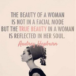 ... beautiful and generous spirit beyond her timeless beauty, like Audrey