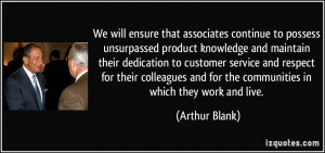 Product Knowledge Quotes