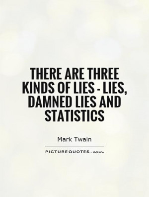 Statistics Quotes Math Quotes Lie Quotes Mark Twain Quotes