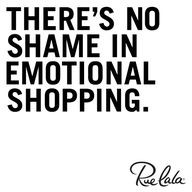 retail therapy quotes More