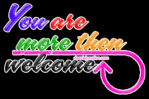 You are Welcome Comments, Images, Graphics, Pictures for Facebook