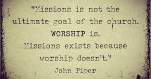 Missions Quote