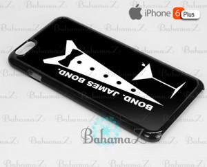 Movie Quotes Bond James Bond iPhone 6 Plus Case Cover