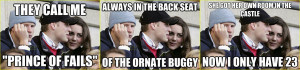 Third Wheel Prince Harry: The Advice Meme