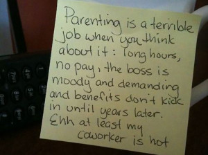 Stay at Home Dad Leaves Funny Notes for His Wife