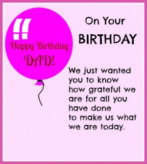 birthday wishes pin it awesome birthday quote for dad happy birthday ...