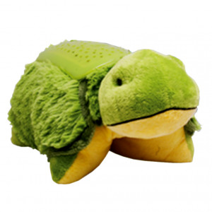 Details about Green TARDY TURTLE | My Pillow Pets Dream Lites Night