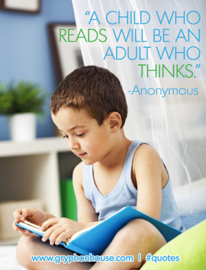 Reading fosters critical thinking along with a variety of other skills ...
