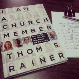 Reading Review: I am a Church Member @ThomRainer